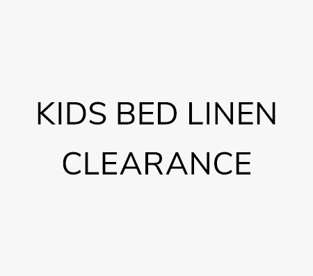 Kids Bed Linen Clearance