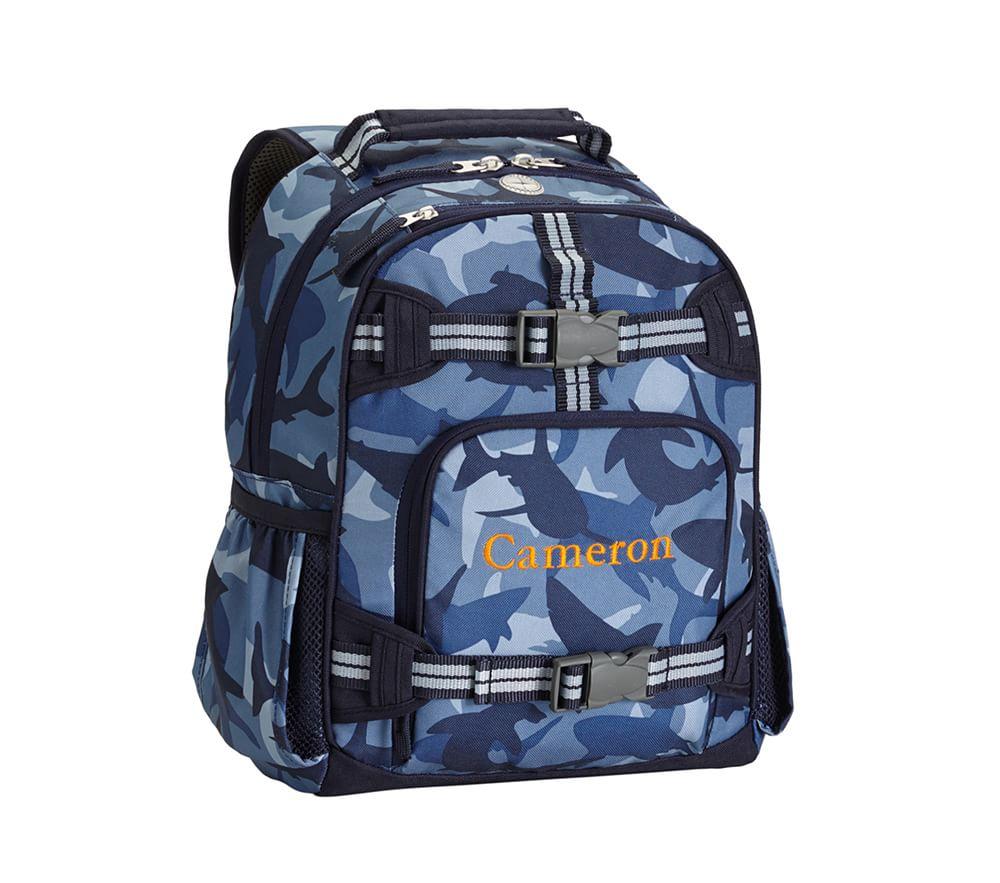 1d65655669e4 ... Mackenzie Navy Shark Camo Backpacks ...