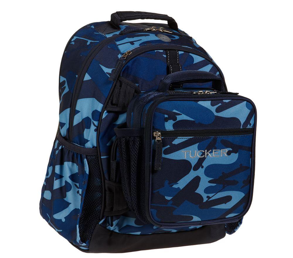 96776da8e846 Navy Shark Camo Backpack
