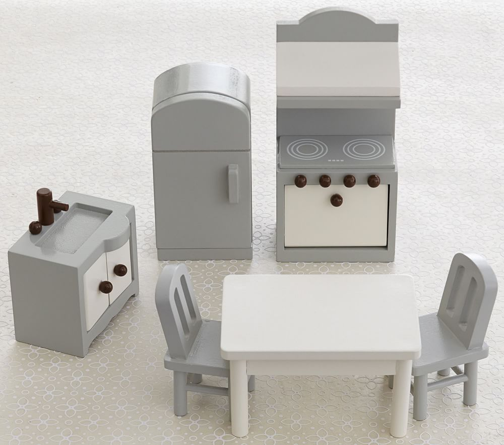 Dollhouse Kitchen Accessory Set