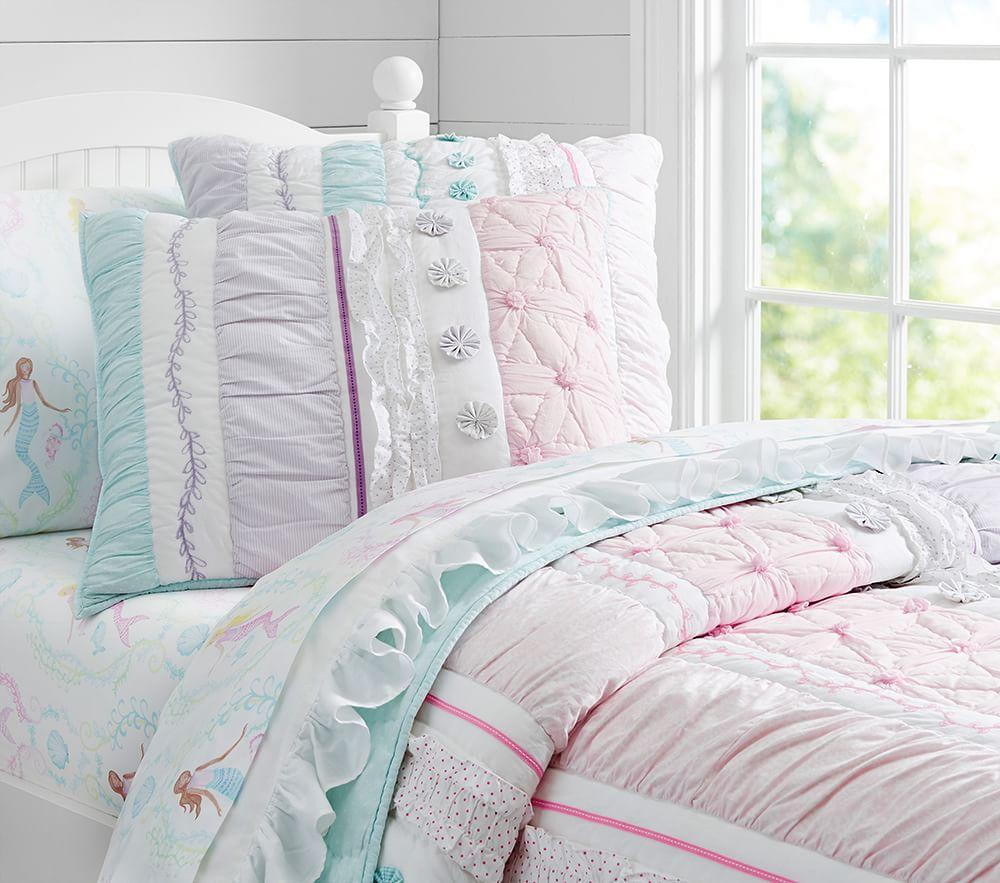 Bailey Ruffle Comforter Pottery Barn Kids Au