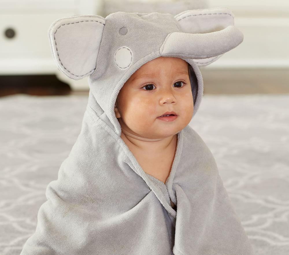 Pottery Barn Kids Animal Bath Towel