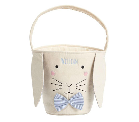 Canvas Bunny Easter Treat Buckets