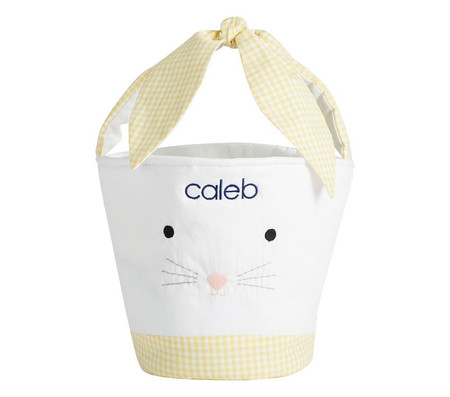 Tie Ear Bunny Easter Treat Bucket