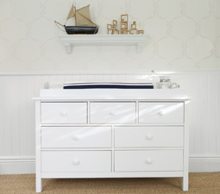 Kendall Extra-Wide Dresser & Change Table Topper