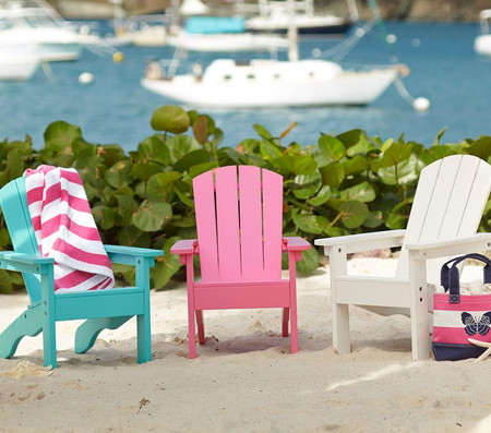 Bright Pink Adirondack Chair