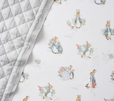 Beatrix Potter™ Organic Peter Rabbit Fitted Cot Sheet