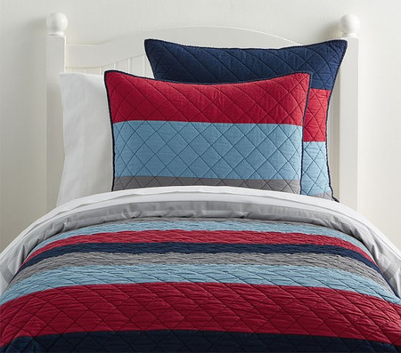 Block Stripe Comforter