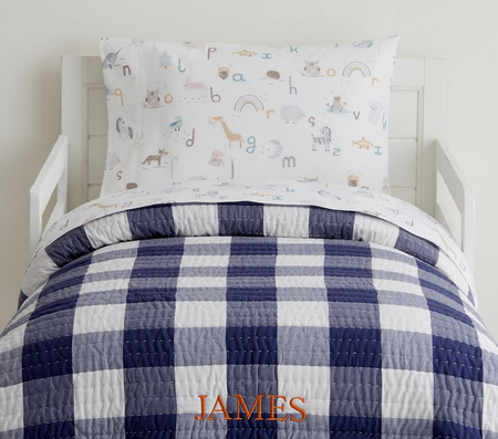 Buffalo Check Toddler Comforter