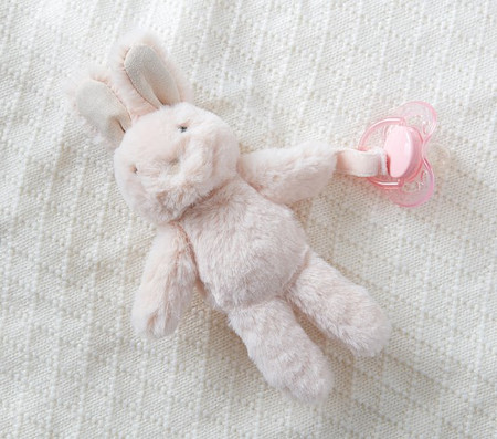 Bunny Plush Dummy Holder
