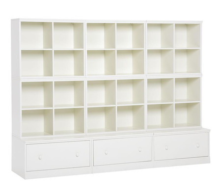 Cameron 6 Cubby & 3 Drawer Base Storage System