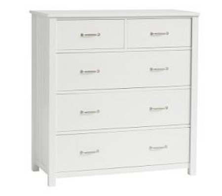 Camp Chest of Drawers - Simply White