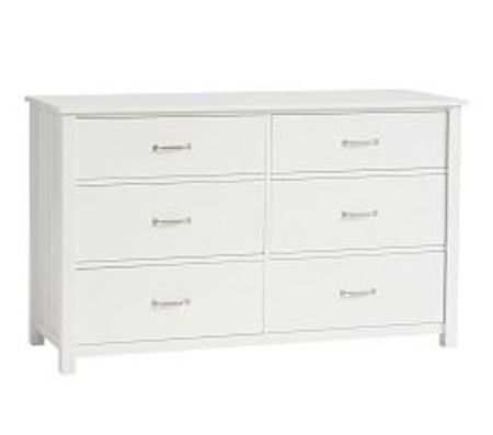 Camp Extra Wide Dresser - Simply White