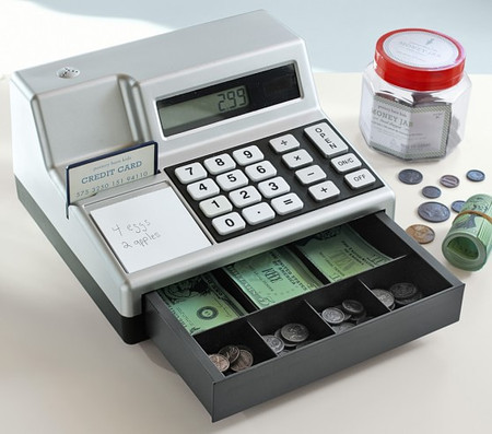 Cash Register & Play Money