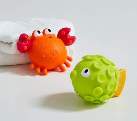 Crab and Fish Squirty Bath Toy