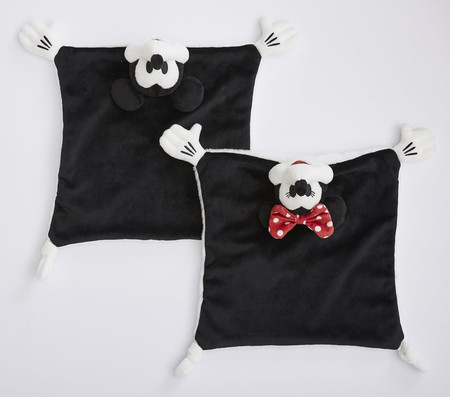 Disney Mickey and Minnie Mouse Security Blanket
