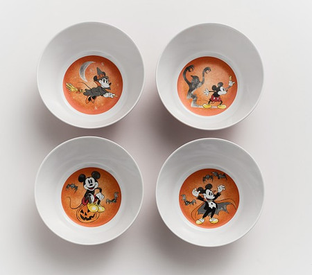 Disney Mickey Mouse Halloween Bowls