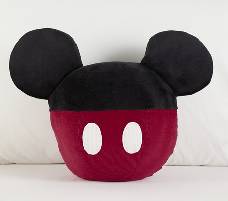 Disney Mickey Mouse Shaped Cushion