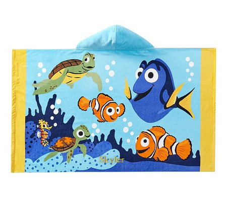 Disney and Pixar Finding Nemo Kids Beach Hooded Towel