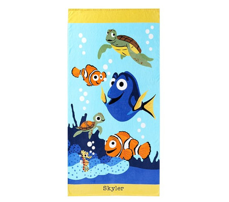 Disney and Pixar Finding Nemo Kids Beach Towel
