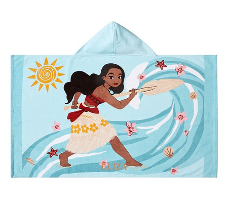 Disney Moana Kids Beach Hooded Towel