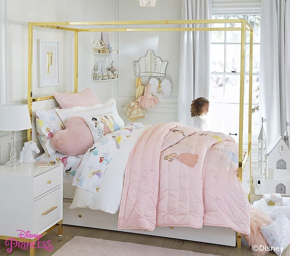 LARGE DISNEY PRINCESS ENCHANTING ROUND RUG MAT NEW KIDS GIRLS PINK BEDROOM