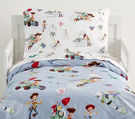 Disney®Pixar TOY STORY Organic Toddler Quilt Cover
