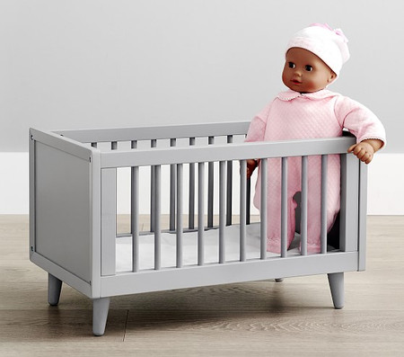 Doll Mid-Century Cot