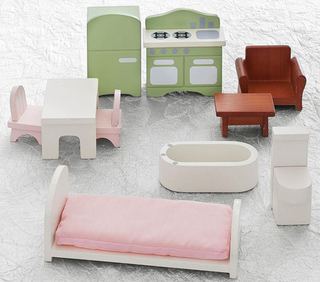 Dollhouse Furniture Starter Set, Pictures Of Dollhouse Furniture