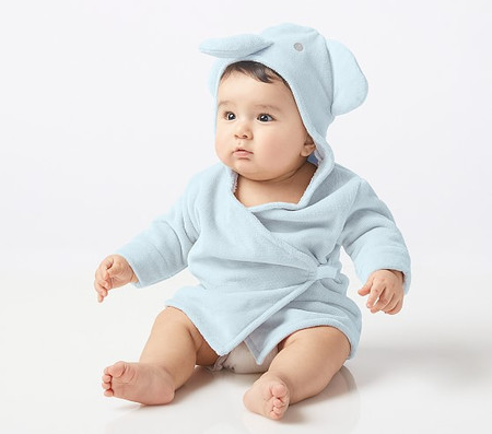Elephant Baby Bath Robe
