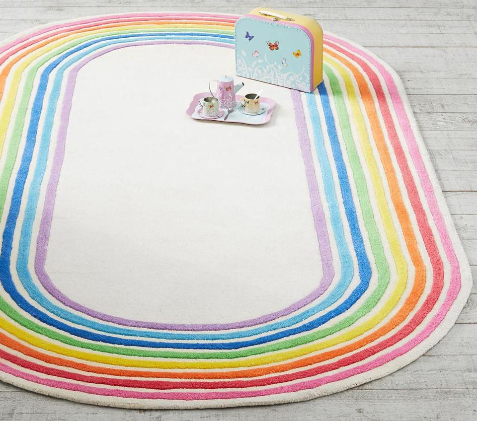 Flour Shop Rainbow Magic Rug