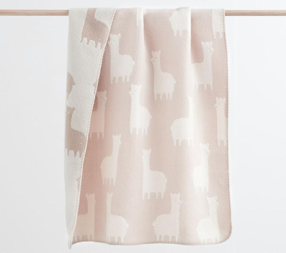 Fuzzy Animal Baby Blanket