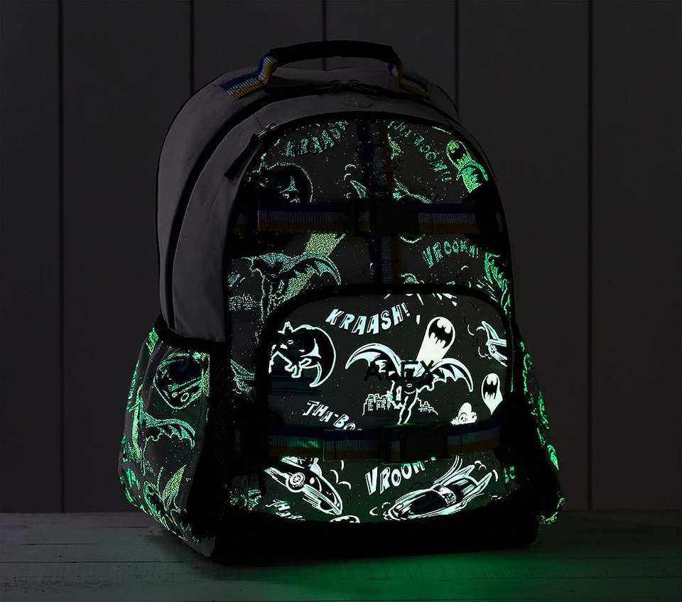 Mackenzie BATMAN™ Glow-in-the-Dark Backpack