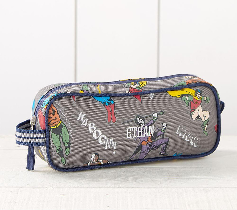 Justice League Glow In The Dark Pencil Case Pottery