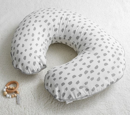 Gray Brush Stroke Boppy® Nursing & Infant Support Pillow & Slipcover