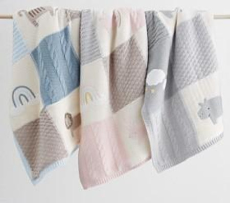 Heirloom Animal Baby Blankets