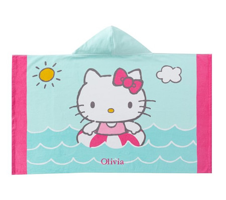 Hello Kitty® Kids Beach Hooded Towel