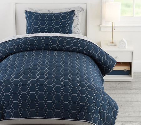 west elm x pbk Honeycomb Comforter