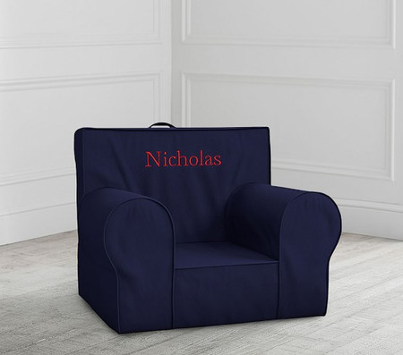 Navy Anywhere Chair