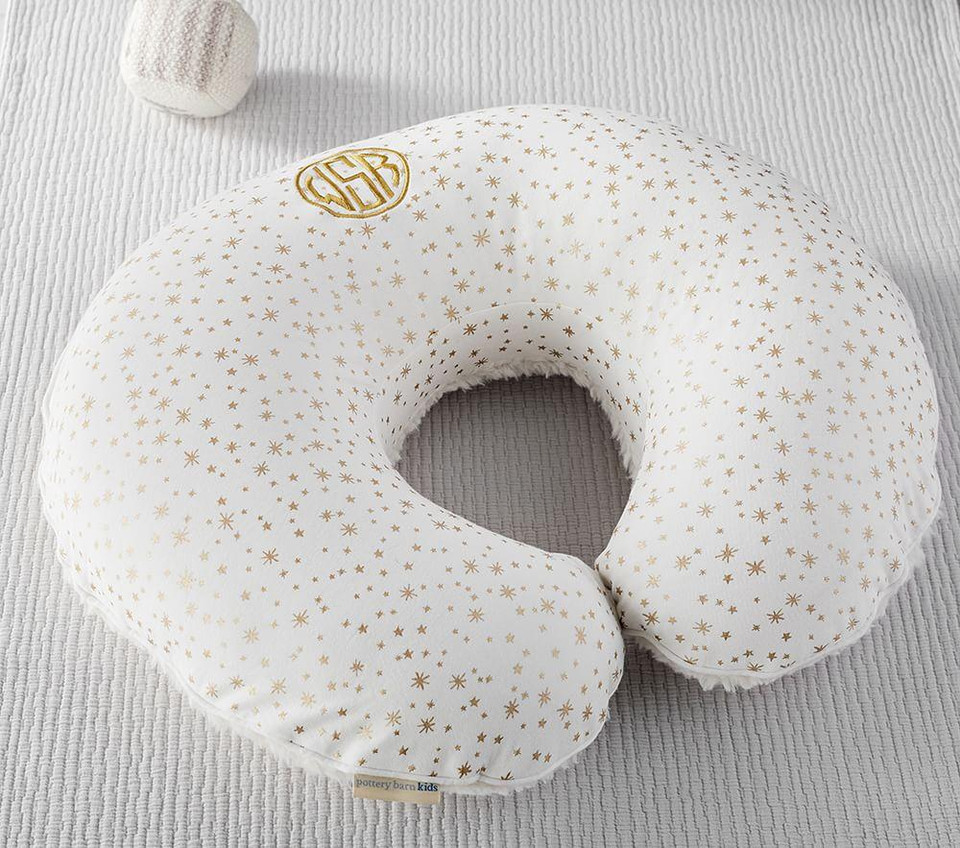 Ivory Metallic Star Boppy® Pillow & Slipcover