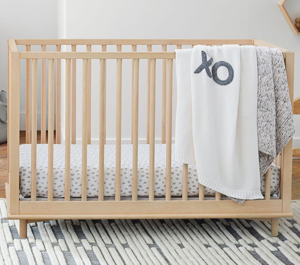 Jersey Spaced Dyed Baby Bed Linen
