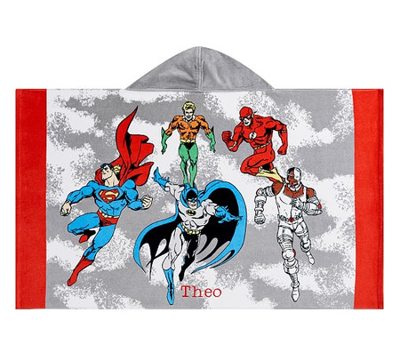 Justice League™ Kids Beach Hooded Towel