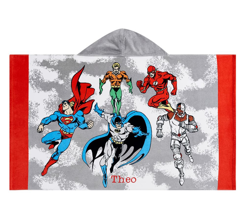 Justice League&#8482 Kids Beach Hooded Towel