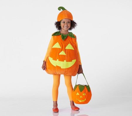 Glow-in-the-Dark Pumpkin Costume
