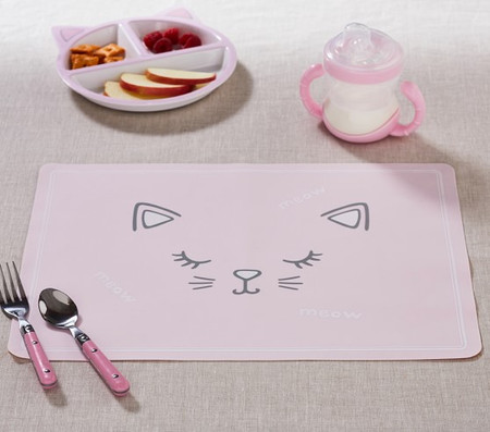 Kitty Silicone Placemat