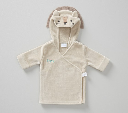Lion Baby Bath Robe