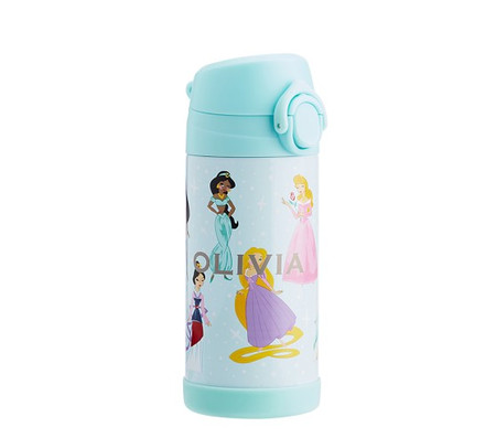 Mackenzie Aqua Disney Princess Water Bottles & Food Storage
