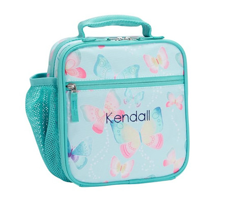 Mackenzie Aqua Gigi Butterfly Lunch Boxes