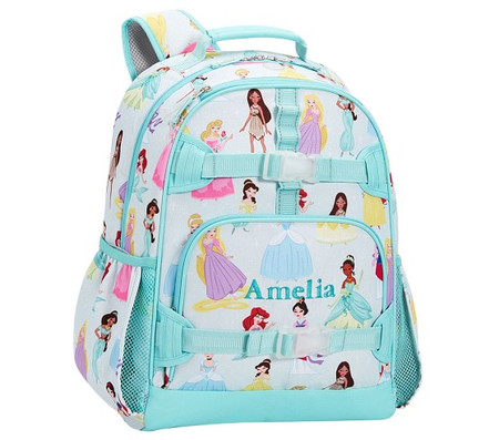 Mackenzie Aqua Disney Princess Backpack