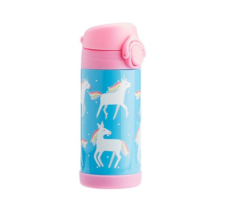 Mackenzie Aqua Unicorn Water Bottles & Food Storage